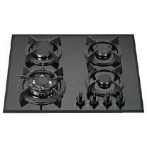 כיריים 4 להבות זכוכית שחורה Muller